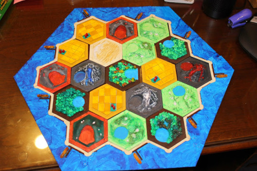 3D Settlers Of Catan Game
