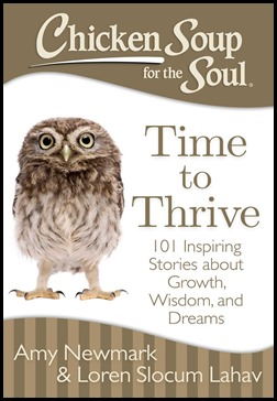 Chicken Soup For The Soul - Time To Thrive Book Giveaway