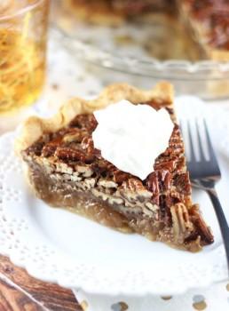 Brown Butter Bourbon Pecan Pie