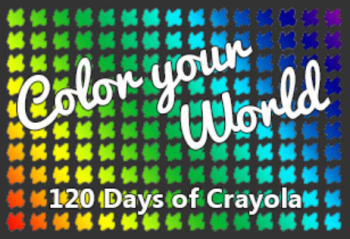 Color Your World Crayola Challenge
