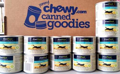 Ziwipeak Canned Cat Food Review The New Chewycom Blog Hop
