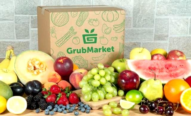 GrubMarket Giveaway – Win A Box Of Organic Fruit