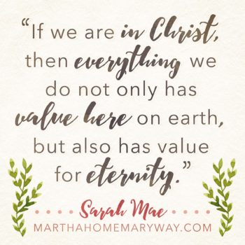 Having A Martha Home The Mary Way - Graphic 2