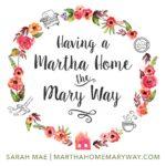 Having A Martha Home The Mary Way - Thumbnail
