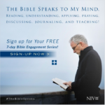 The Bible Speaks To My Mind - Sign Up
