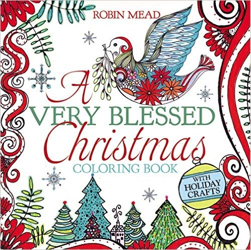 A Very Blessed Christmas Coloring Book Giveaway