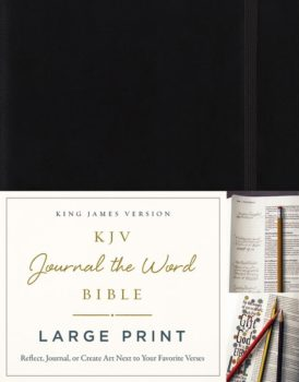 kjv journal the word bible large print book review