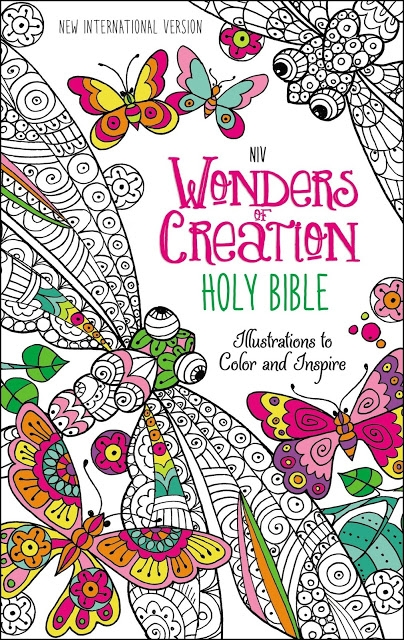 NIV Wonders Of Creation Coloring Bible Giveaway
