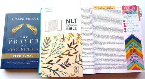 Bible Journaling Page with Devotional