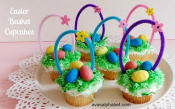 Easter Bag Cupcakes