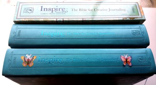 Inspire Bible - Decorated Book Spines