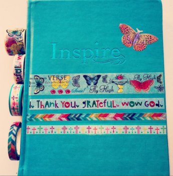 Inspire Bible Washi Cover - Feature Photo