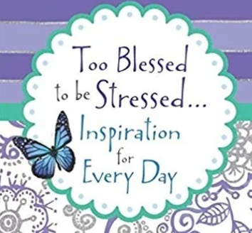 Too Blessed To Be Stressed Giveaway