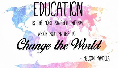 Education Quote Nelson Mandela