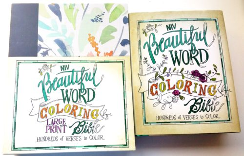 NIV Beautiful Word Coloring Bibles 1