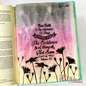 Bible Journaling Vellum Insert