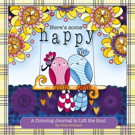 Here's Some Happy Coloring Journal Giveaway