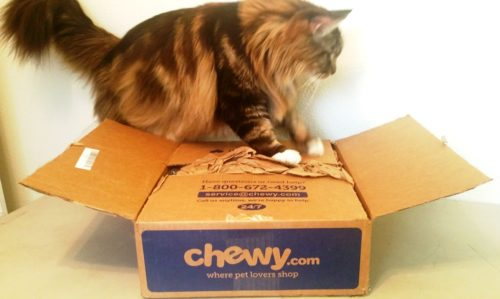 Magellan Opens The Chewy Box