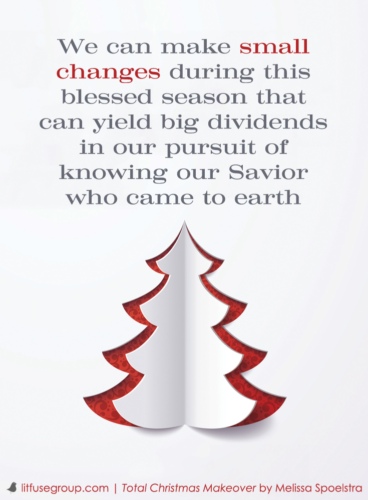 Total Christmas Makeover - Small Changes Graphic
