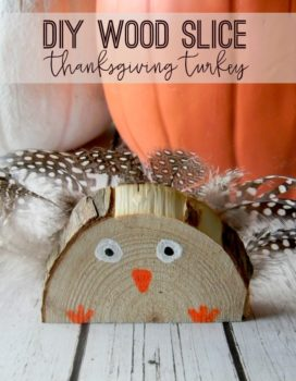 Wood Slice Turkey