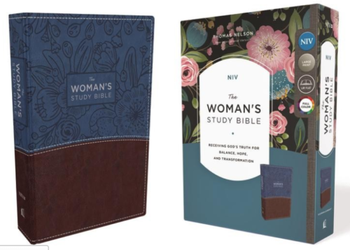 The Womens Study Bible NIV Imitation Leather