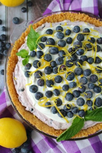 Creamy-Blueberry-Pie
