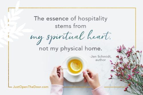 Just Open The Door - Hospitality