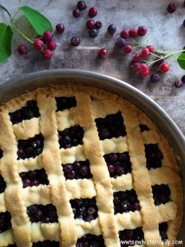 Juneberry-Pie