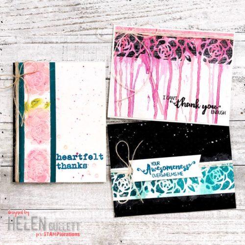 Trio Of Handmade Cards