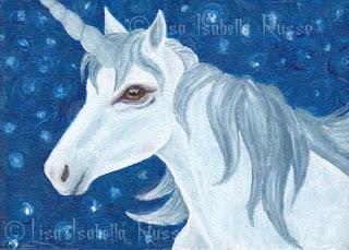 Snowy Night Unicorn