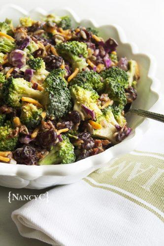 Cranberry Broccoli Salad