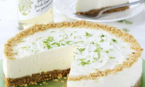 Elderflower and Lime Cheesecake