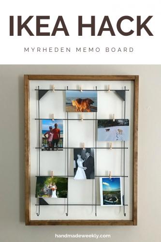Ikea Hack - Memo Board