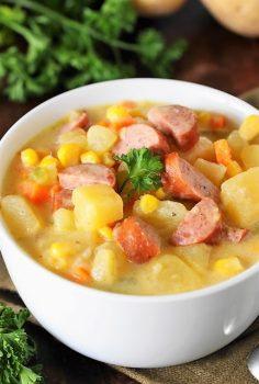 Kielbasa-Potato-Soup