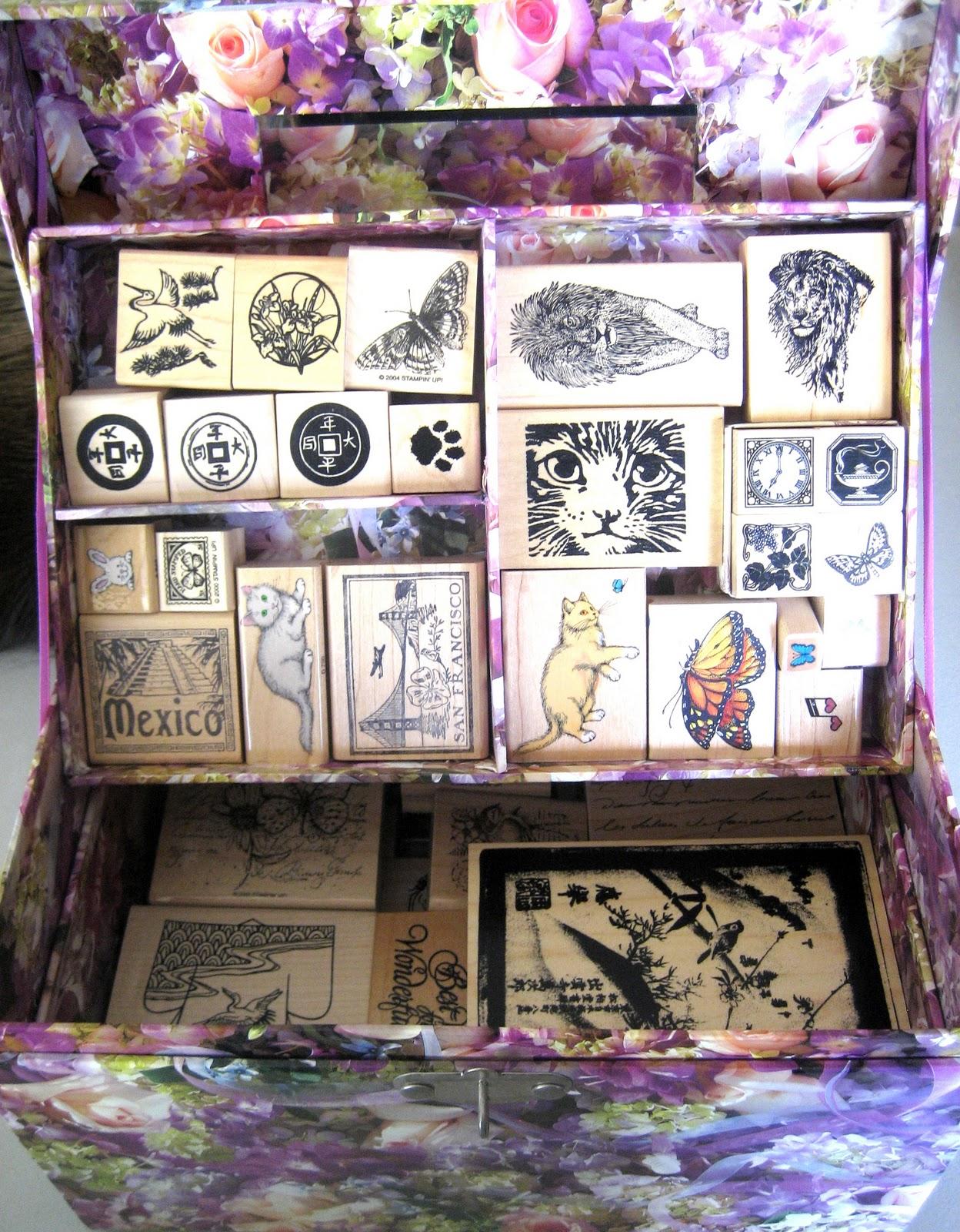 Rubber Stamp Storage Ideas U2013 Part 1